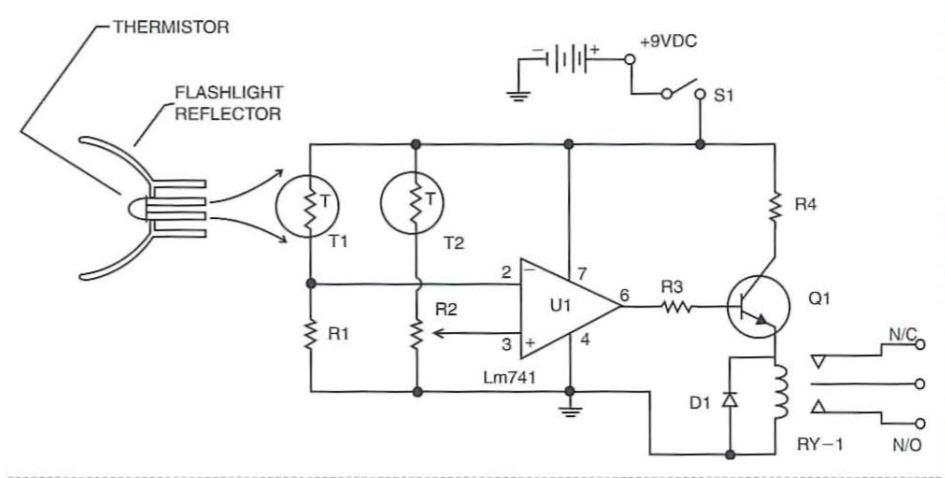 Infrared Flame Sensor Switch